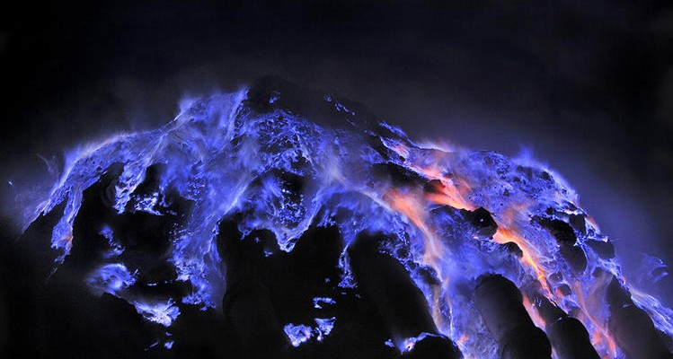 Finding Blue Lava Fire On our Life's Journey, January 2014