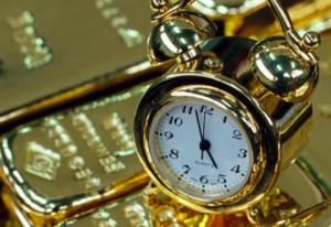 ThinkMoreBeMore.Com Gold Bars and Gold Clock